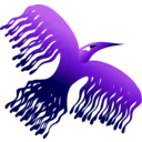 download Phoenix Bird 1 clipart image with 225 hue color