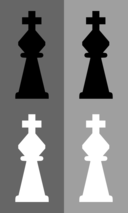 2d Chess Set Knight