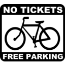 Bike No Tickets Free Parking
