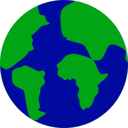 Earth With Continents Separated