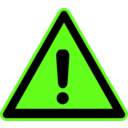 download Signs Hazard Warning clipart image with 45 hue color