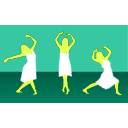 download Girl Dance clipart image with 45 hue color