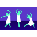 download Girl Dance clipart image with 135 hue color