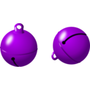 download Jingle Bells clipart image with 225 hue color