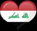 Iraq Heart Flag