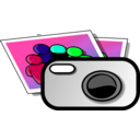 download Photo Camera clipart image with 135 hue color