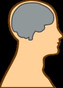 Silhouette Of A Brain