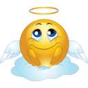 Angel Male Smiley Emoticon