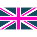 download Flag Of Britain clipart image with 315 hue color