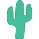 download Cactus clipart image with 45 hue color