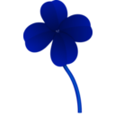 download Clover clipart image with 135 hue color