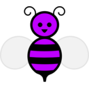 download Honey Bee clipart image with 225 hue color