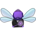 download Fairy Avatar clipart image with 225 hue color