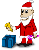 Comic Characters Santa