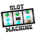 download Slot Machine clipart image with 135 hue color
