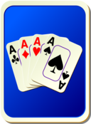 Card Backs Cards Blue