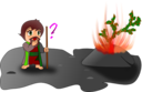 Moses And The Burning Bush Chibi Version