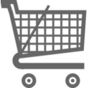download Cart Small clipart image with 315 hue color