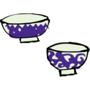 download Chawan clipart image with 45 hue color