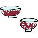 download Chawan clipart image with 135 hue color