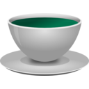 download Realistic Coffee Cup Front 3d View clipart image with 135 hue color