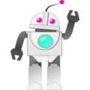 download Bot clipart image with 135 hue color
