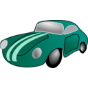 download Classic Car clipart image with 315 hue color