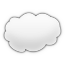 download Cartoon Cloud clipart image with 135 hue color