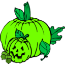 download Pumpkins Colour clipart image with 45 hue color