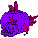 download Pumpkins Colour clipart image with 225 hue color