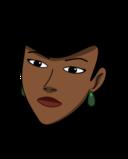 Woman Head Dark