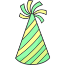 Green Party Hat