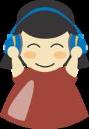 Girl With Headphone4