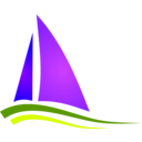 download Boat Illustration clipart image with 225 hue color