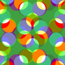 Colourful Square Pattern 3