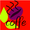 download Coffe Bean clipart image with 315 hue color
