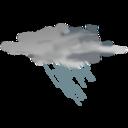 Weather Icon Heavy Rain