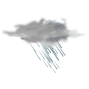 Weather Icon Heavy Rain