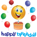 Boy Birthday Smiley Emoticon