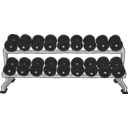 download Dumbell Rack clipart image with 135 hue color