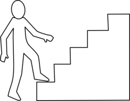 Escalier Staircase Clipart | i2Clipart - Royalty Free ...