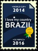 Brazil 2014 2016 Postage Stamp
