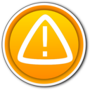 Warning Button Boton Advertencia