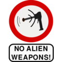 No Alien Weapons