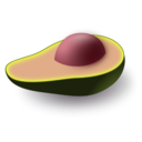 download Avocado clipart image with 315 hue color