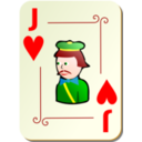 Ornamental Deck Jack Of Hearts