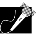 download Microphone clipart image with 315 hue color