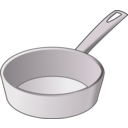 download Skillet clipart image with 225 hue color