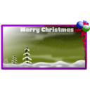 download Merry Christmas 2010 clipart image with 225 hue color