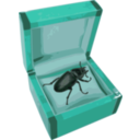 download Beetle In A Box clipart image with 135 hue color